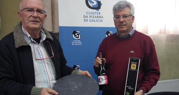 Photo of Representantes dos sectores do viño e da lousa amosan o seu compromiso para impulsar accións conxuntas
