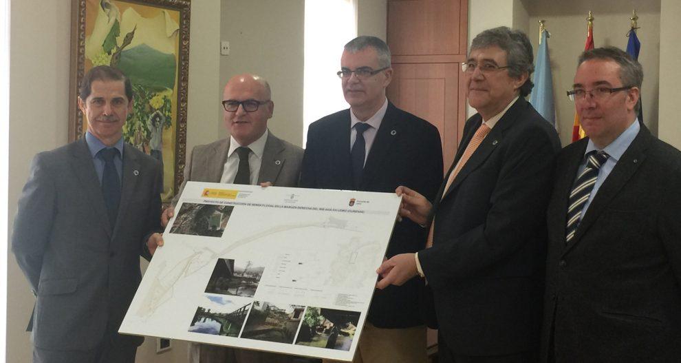 Photo of Medio Ambiente, Deputación e o Concello de Leiro arranxarán as marxes do río Avia