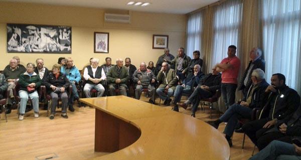 Photo of Numerosos regantes da Rúa Vella e Vilela asistiron á xuntanza convocada polo Concello