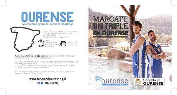 Photo of Concello e COB únense para promocionar a cidade de Ourense