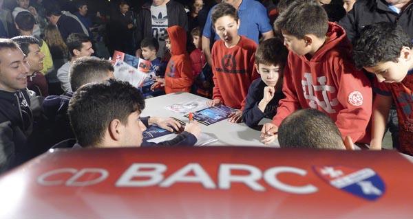Photo of Xa está na rúa o álbume de cromos do Centro de Deportes Barco