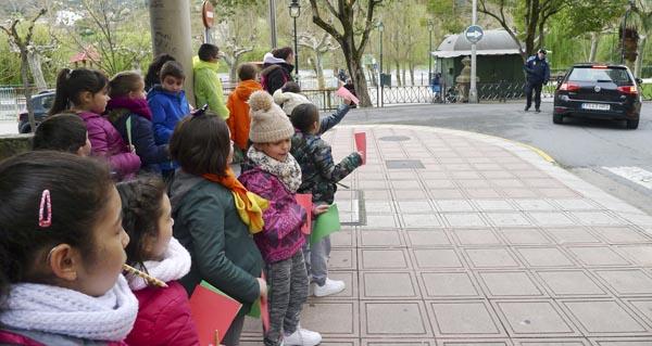 Photo of Clases prácticas de Educación Viaria polas rúas do Barco