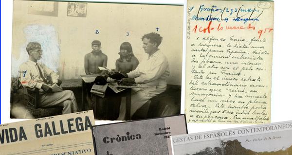 "Photo of A historia do ourensán que chegou a ser ""Rei dos Jíbaros"", na Biblioteca de Verín"
