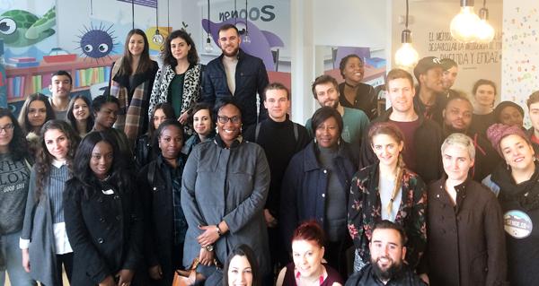 Photo of Visita de alumnos británicos a empresas ourensás