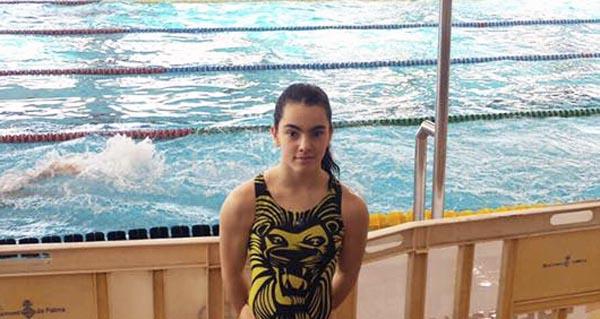 Photo of A nadadora ourensá Eva Feijóo, coa selección galega no campionato de España por Autonomías
