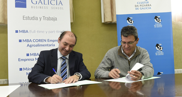 Photo of O Clúster da Lousa e a D.O. Valdeorras asinan convenios coa Galicia Business School