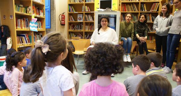 Photo of Entre historias escritas, contadas e recreadas na Biblioteca de Verín