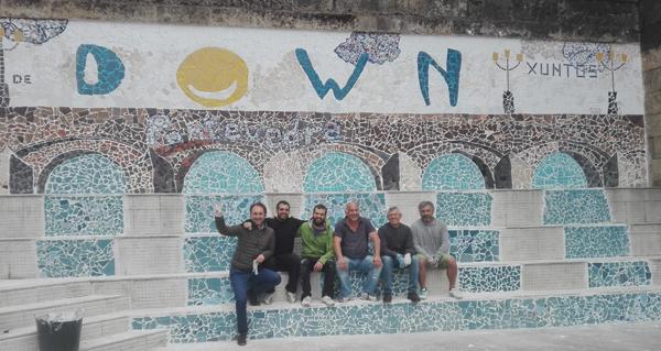 Photo of Un mosaico con pegada valdeorresa para celebrar o Día Mundial da Síndrome de Down en Pontevedra