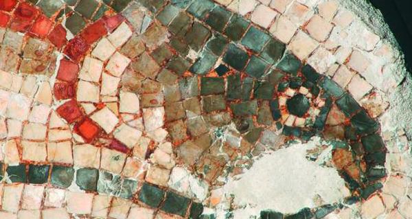 """Photo of O mosaico da Cigarrosa, na mostra """"Na procura do pasado"""""""