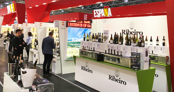 Photo of Túnel con 35 viños do Ribeiro, en Prowein