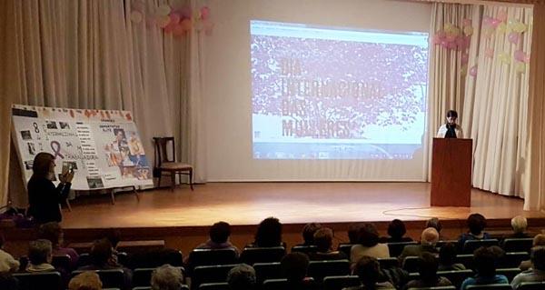 Photo of Poesías, homenaxe e teatro, na celebración do Día da Muller en Trives