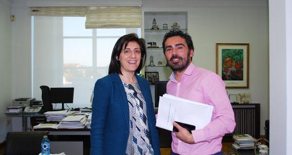 Photo of Reunión do alcalde da Veiga coa conselleira do Medio Rural