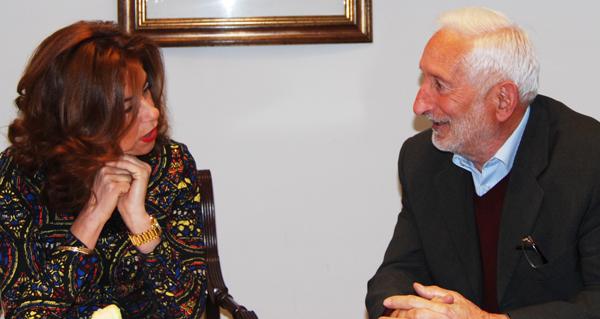 Photo of Reunión do alcalde de Vilariño de Conso coa delegada da Xunta en Ourense