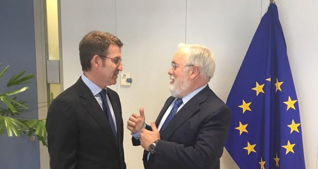 """Photo of Feijóo presenta na Comisión de Enerxía, en Bruxelas, o proxecto """"ecobarrio"""" do vinteún"""