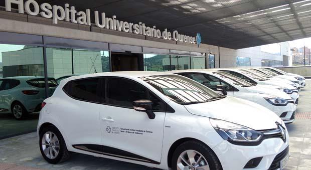 Photo of O Servizo de Hospitalización Domiciliaria renova a súa flota de vehículos