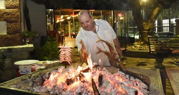 Photo of Degustación de peixe ao espeto, no Restaurante Casa Lameiro do Barco