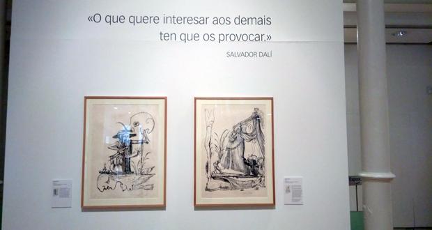 Photo of O lado máis literario de Salvador Dalí na Sala de Exposicións de Afundación