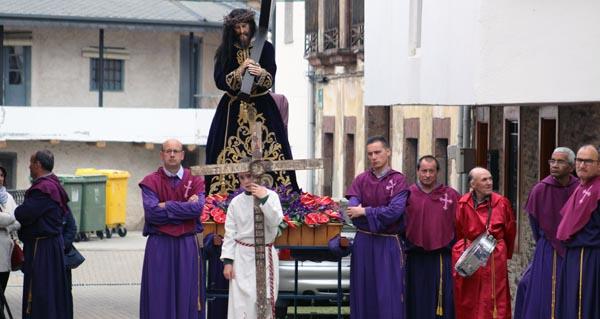 Photo of A procesión do Encontro abre os actos do Xoves Santo en Santo Estevo (A Rúa)