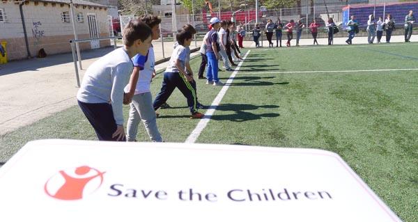 Photo of Os alumnos do CEIP Otero Pedrayo corren para axudar aos nenos máis pobres
