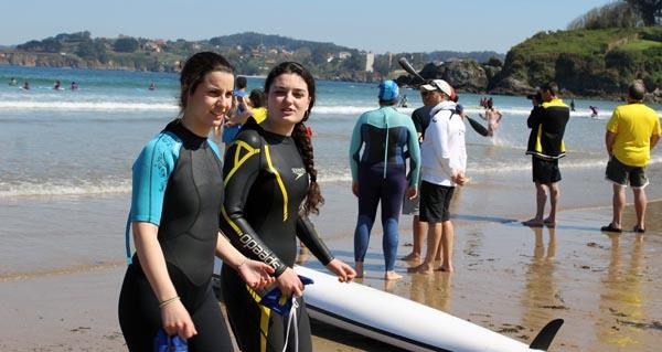 Photo of A ourensá Andrea Bello, campiona na proba de bandeiras da liga galega de salvamento e socorrismo