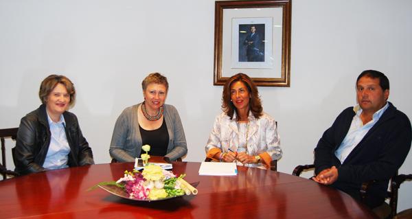 Photo of Reunión da alcaldesa de Castro Caldelas coa delegada da Xunta en Ourense