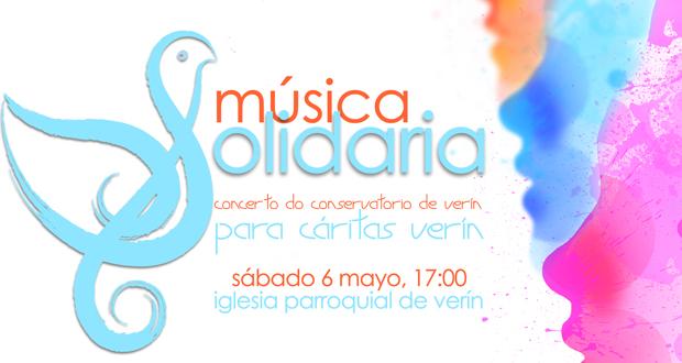 Photo of Verín organiza un concerto solidario en favor de cáritas o próximo 6 de maio