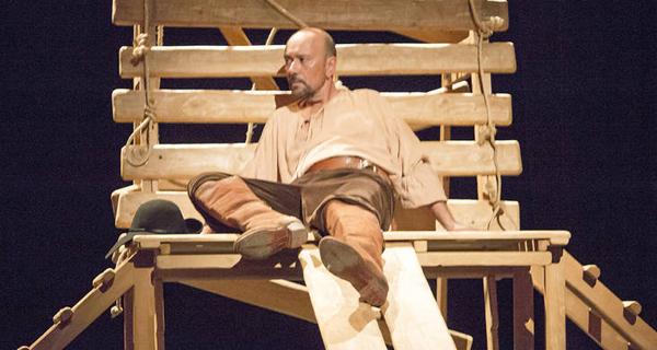 """Photo of Paseo polo Século de Ouro con """"La Encrucijada"""", no Teatro Lauro Olmo do Barco"""