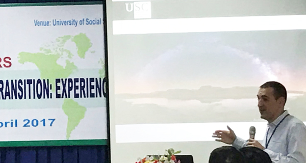 Photo of A Veiga, un dos escenarios do Coloquio Internacional de Xeografía Rural do 2018