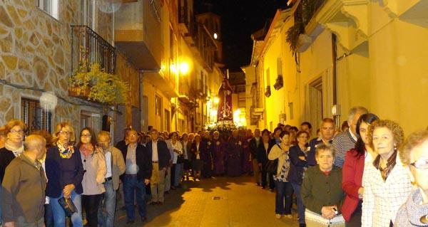 Photo of A Procesión do Silencio percorre o casco antigo barquense