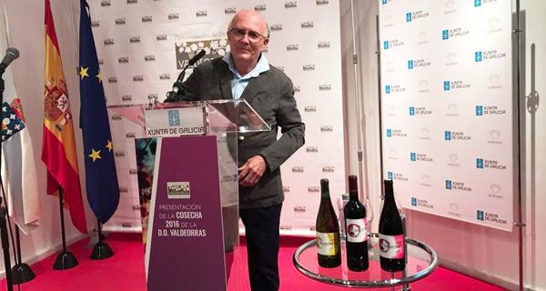 Photo of Valdeorras presenta os seus viños en Madrid