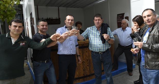 Photo of Entre brindes e sons de gaita, na XXXV Feira do Viño de Quiroga
