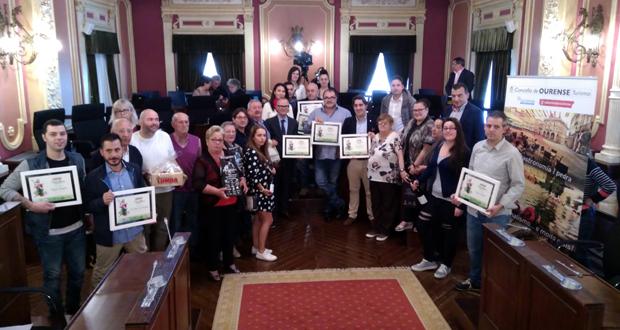 """Photo of O """"Arroz con Carabineros"""" do Ataranza recibe tres, dos catro premios, do concurso """"Sabores de Ourense"""""""
