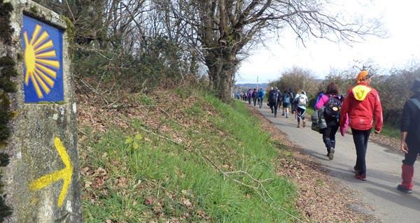 Photo of O Camiño de Inverno, presente nunha viaxe conmemorativa a Bélxica