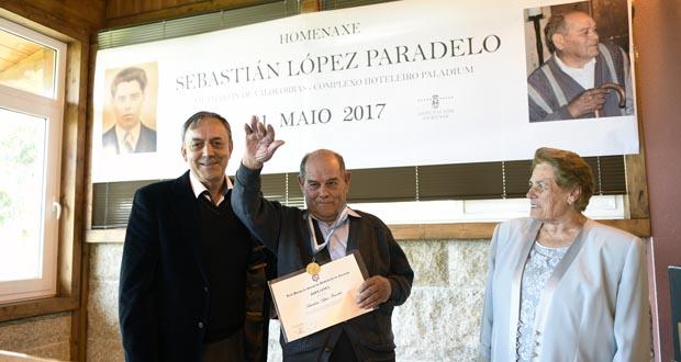 Photo of Homenaxe ao cantor de Correxais, en Vilamartín de Valdeorras