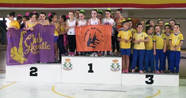 Photo of Tres ouros para o Sincro Ourense no XII Trofeo Deputación de Pontevedra