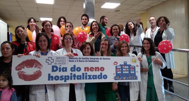 Photo of Milleiros de bicos para conmemorar o Día do neno Hospitalizado