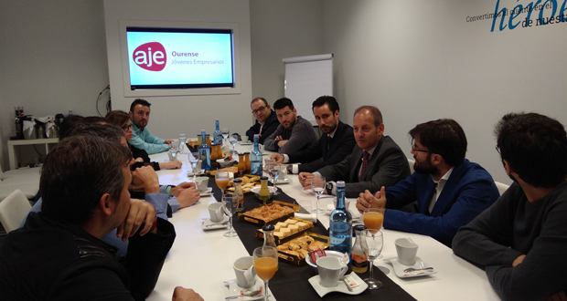 Photo of A Xunta informa aos xoves empresarios do catálogo de axudas para emprender
