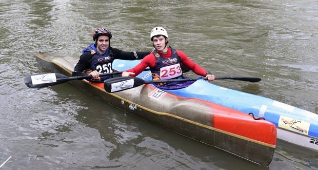 Photo of A patrulla do Fluvial Barco, campiona da Copa España clásica de augas bravas desputada no Sil