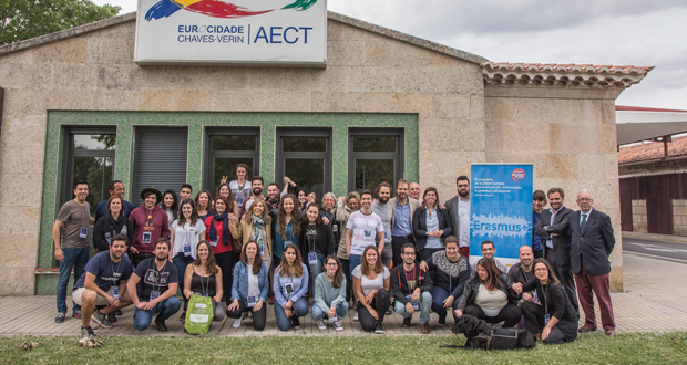 """Photo of A Eurocidade Chaves-Verín acollerá o evento """"Shape it, move it, be it"""" dentro do programa Erasmus+"""