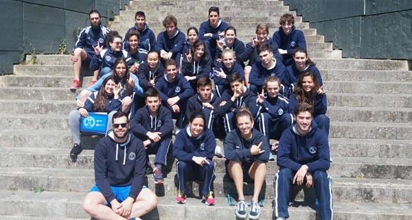 Photo of O Club Natación Pabellón Ourense, subcampión da liga de clubs de división de honra