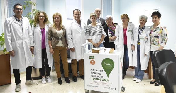 """Photo of O Hospital Comarcal Valdeorras xa conta co """"Carriño de Don Amable"""""""