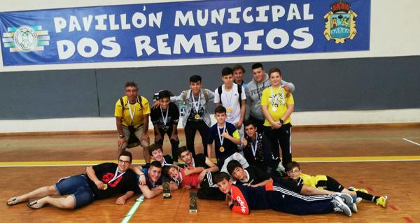 Photo of Os cadetes das Escolas Deportivas de Trives, campións provinciais de fúbtol sala