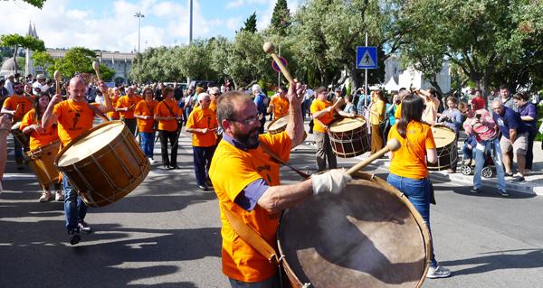 Photo of O Entroido ourensán no FIMI en Lisboa, en fotos