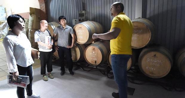 Photo of Importadores nipones visitan as adegas valdeorresas