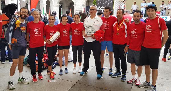 Photo of O equipo feminino do Adas proclámase subcampión de España nos 10 km en ruta