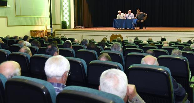 Photo of Reunión de Unións Agrarias cos viticultores valdeorreses afectados pola xeada