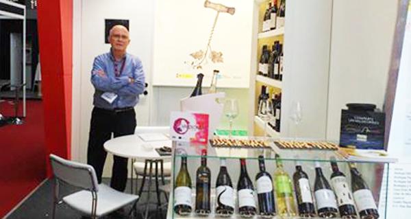 """Photo of Balance """"moi positivo"""" da presenza da D.O. Valdeorras na London Wine Fair"""