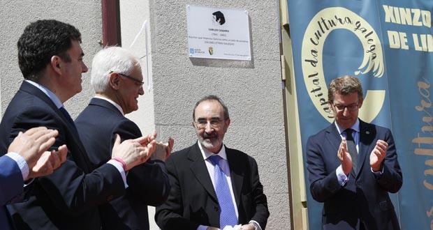 """Photo of Xinzo lembra ao """"escritor que imaxinou Galicia como un país de palabras"""""""