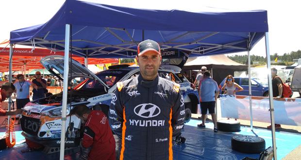 """Photo of """"O Rallye foi moi complicado e a temperatura do coche subiu moito"""""""