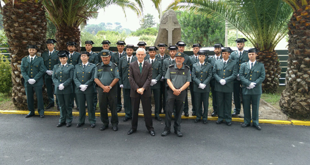 Photo of A Guardia Civil recibe 20 axentes de prácticas